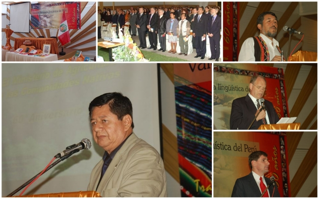 collage of photos from Peru's 60th event