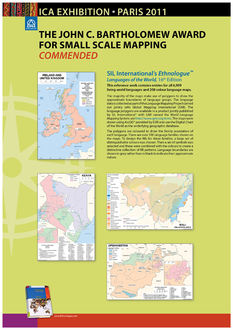 image of award winning maps